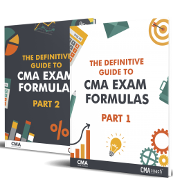 Part 1 and 2 CMA Exam Formulas