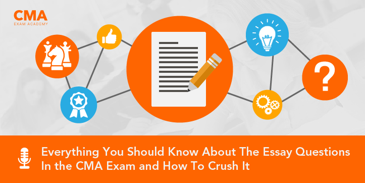 CMA exam essay questions