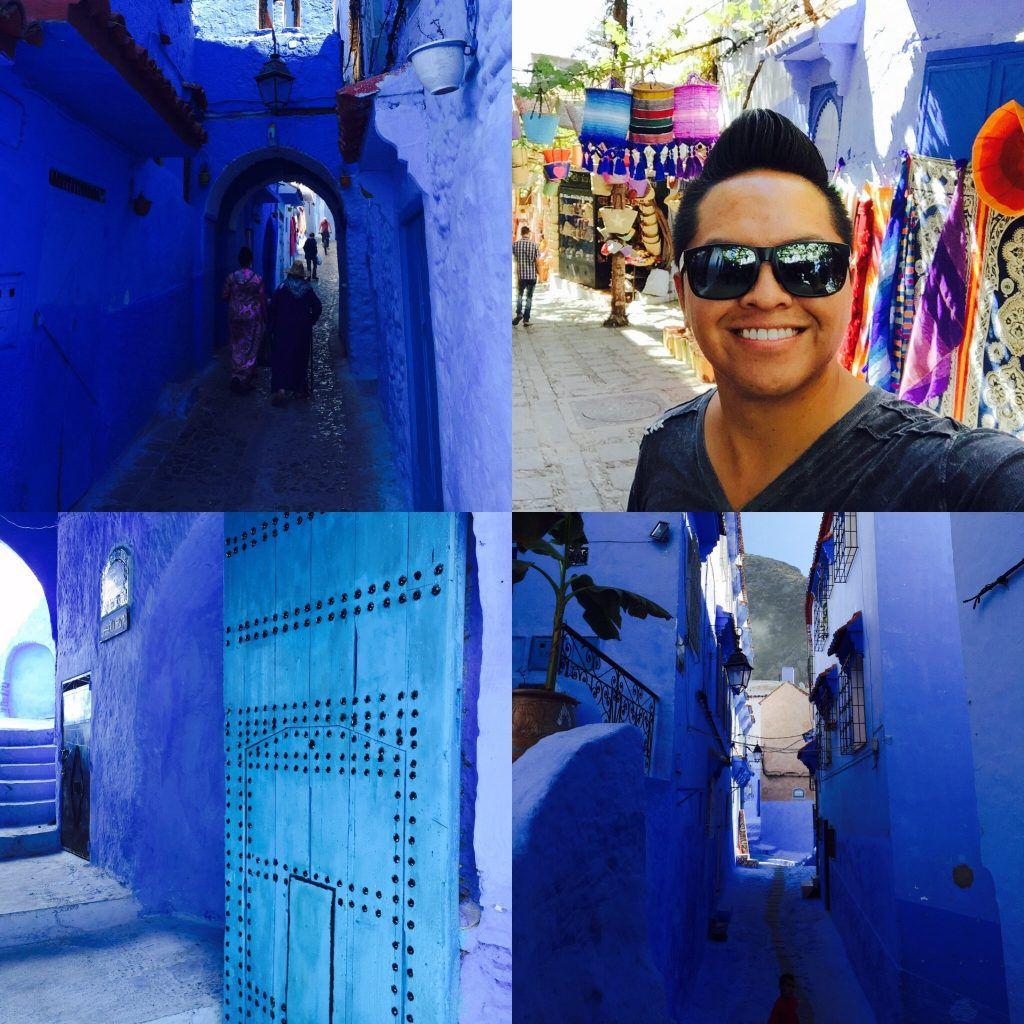 Morocco - Blue City