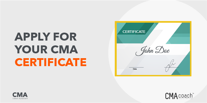 Apply for Your CMA Certificate