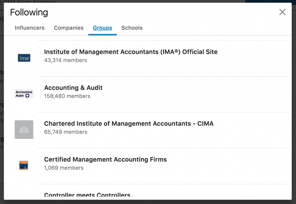 screenshot-showing-how-to-follow-groups-on-linkedin-to-enhance-your-resume