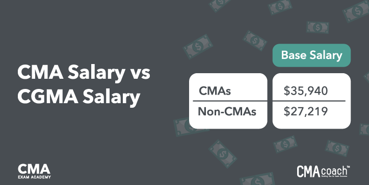 CMA Salary vs. CGMA Salary