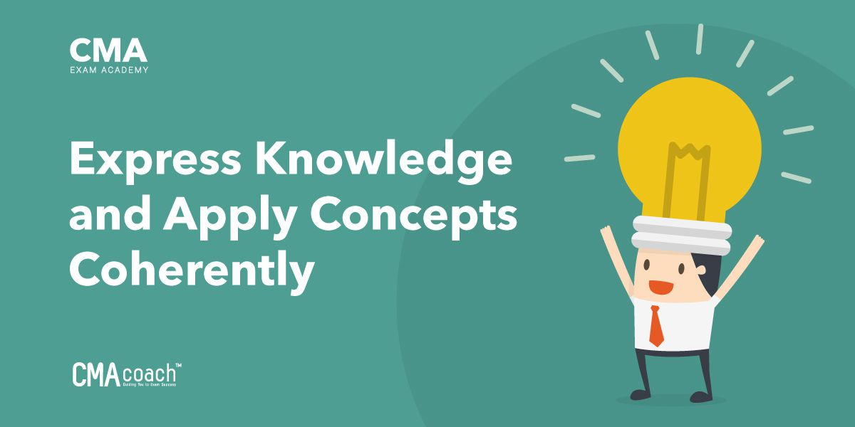 express knowledge and apply concepts