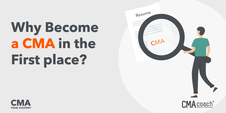 why become a cma