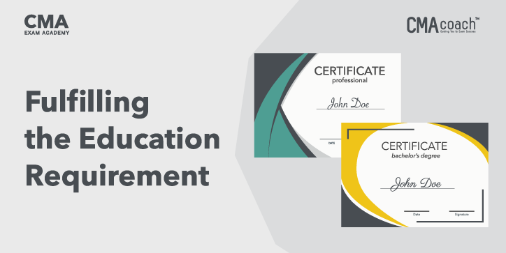 cma certification education requirement