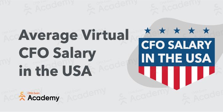 average virtual cfo salary usa