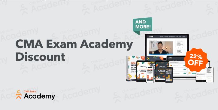 CMA Exam Academy Discount Codes