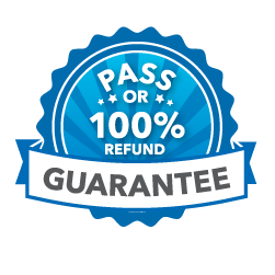 Pass or 100% Refund Guarantee